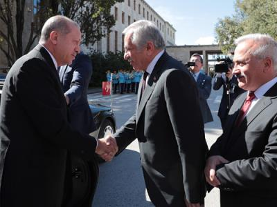 president erdoan attends opening session of gnats new legislative year - Erdogan Lebenslauf