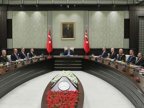 """MGK Bildirisi: """"Suriye krizinin çözümünde uluslararası toplum sorumluluklarını yerine getirmeli"""""""