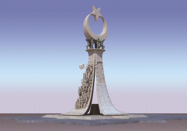 Cumhurbaşkanlığı Külliyesi 15 Temmuz Şehitler Abidesi
