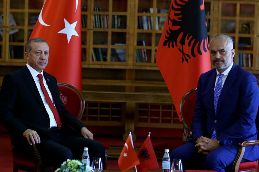 Presidency Of The Republic Of Turkey : President Erdoğan Meets Albanian PM Rama