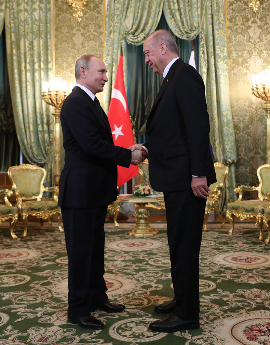 Presidency Of The Republic Of Turkey : President Erdoğan meets with