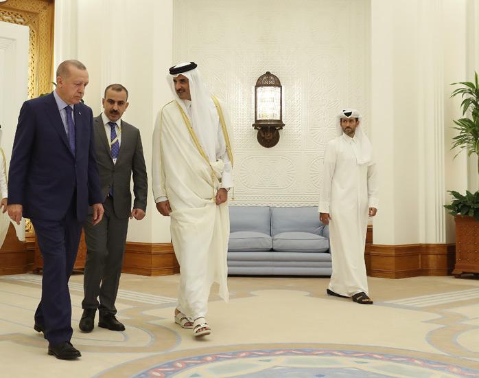 T.C.CUMHURBAŞKANLIĞI : Cumhurbaşkanı Erdoğan, Katar Emiri Şeyh ...
