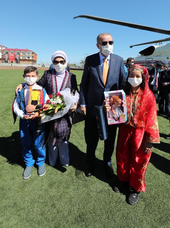 Cumhurbaşkanı Erdoğan Bitlis'te