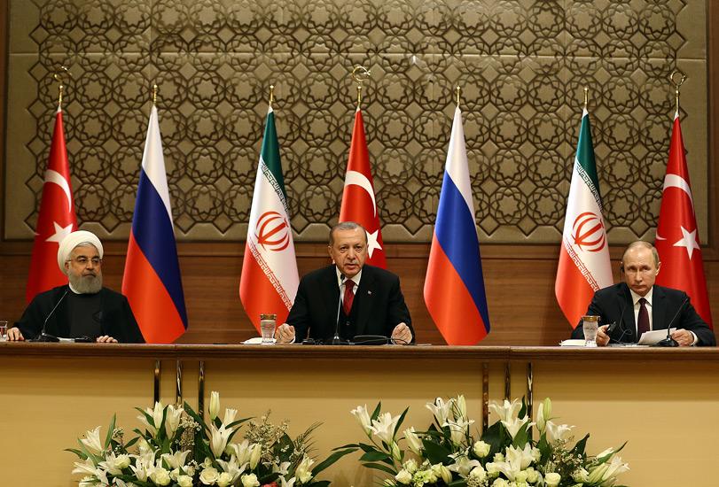 Ankaradaki Suriye Zirvesi Sonrası Ortak Açıklama ve Toprak Bütünlüğü Vurgusu 61