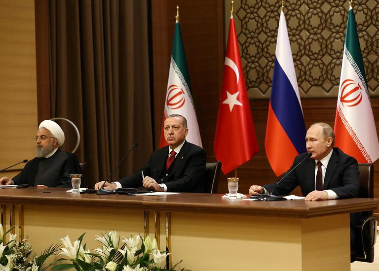 Ankaradaki Suriye Zirvesi Sonrası Ortak Açıklama ve Toprak Bütünlüğü Vurgusu 12