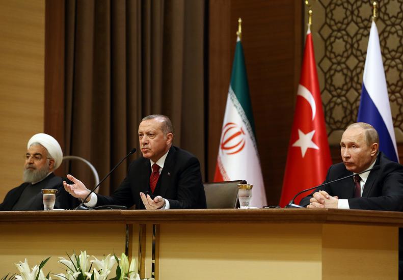 Ankaradaki Suriye Zirvesi Sonrası Ortak Açıklama ve Toprak Bütünlüğü Vurgusu 92