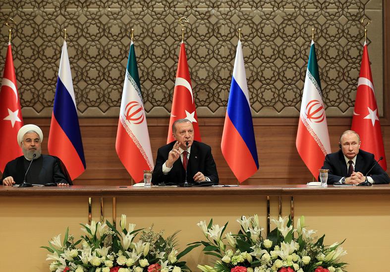 Ankaradaki Suriye Zirvesi Sonrası Ortak Açıklama ve Toprak Bütünlüğü Vurgusu 5