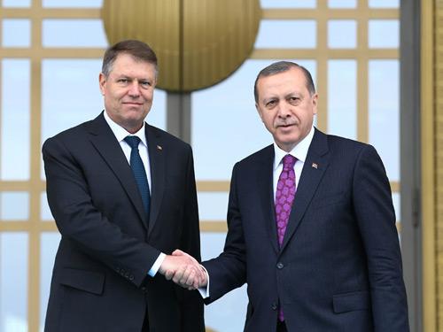 Romanya Cumhurbaşkanı İohannis Cumhurbaşkanlığı Külliyesi'nde