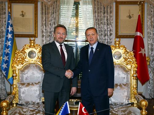 erdogan izetbegovic ile ilgili görsel sonucu