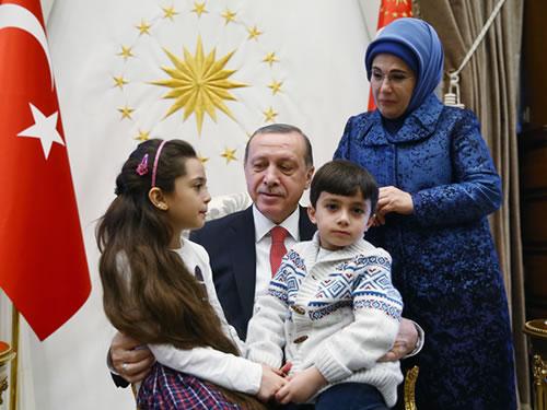 Cumhurbaşkanı Erdoğan, Halepli Bana Alabed ve Ailesini Kabul Etti