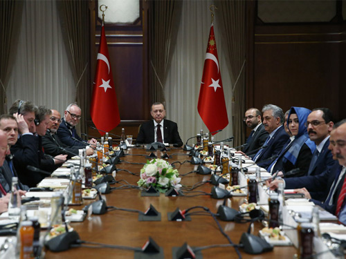 UK House of Commons Foreign Affairs Committee at the Presidential Complex