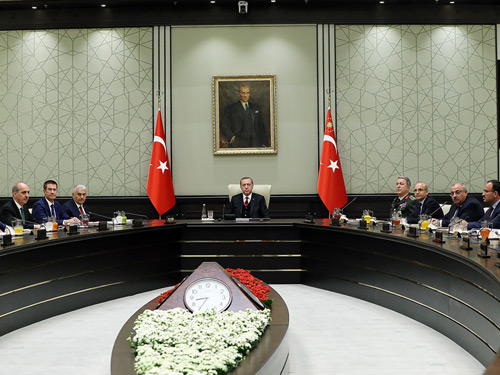 MGK, Cumhurbaşkanlığı Külliyesinde Toplandı