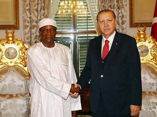 Cumhurbaşkanı Erdoğan, Gine Cumhurbaşkanı Conde ile Bir Araya Geldi