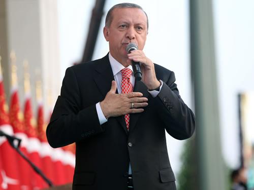 """""""Milletimizle Birlikte, 2023 Hedeflerimize Ulaşarak Zafer Anıtımızı Dikmekte Kararlıyız"""""""