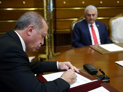Cumhurbaşkanı Erdoğan, Yüksek Askerî Şûra Kararlarını Onayladı