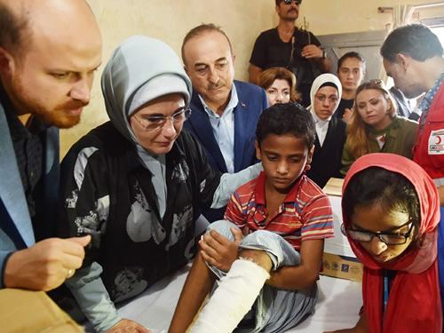 """Emine Erdoğan: """"İnsanlık, Rohingya Müslümanlarına Sırtını Dönmemeli"""""""