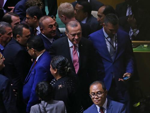 Cumhurbaşkanı Erdoğan, BM Genel Kurulu Görüşmelerine Katıldı