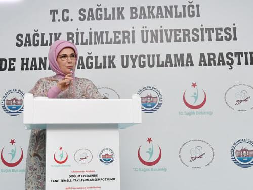 """Emine Erdoğan: """"Sezaryen Oranlarını Düşürmek İçin Seferberlik Başlatmalıyız"""""""