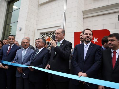 Cumhurbaşkanı Erdoğan, Samiha Ayverdi Anadolu Lisesi'nin Açılış Törenine Katıldı