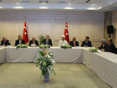 Cumhurbaşkanı Erdoğan, 10 Muharrem İftarı Verdi