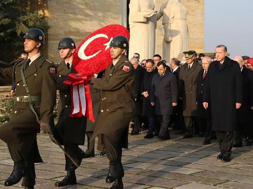 Atatürk'ün Ebediyete İntikalinin 79. Yıl Dönümü
