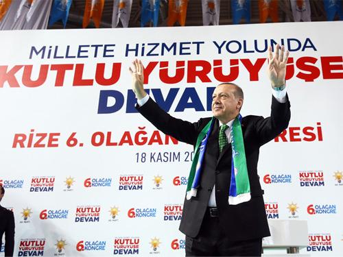 """""""Milletimiz Bize, Büyük ve Güçlü Türkiye'yi İnşa Etme Vazifesi Verdi"""""""