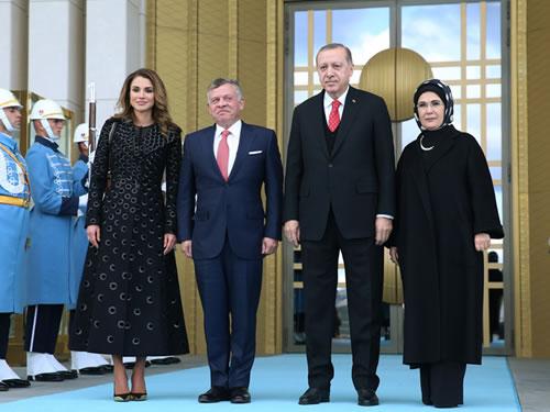 Ürdün Kralı II. Abdullah Cumhurbaşkanlığı Külliyesinde
