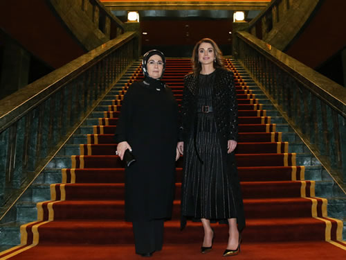 Emine Erdoğan, Ürdün Kraliçesi Rania ile Görüştü