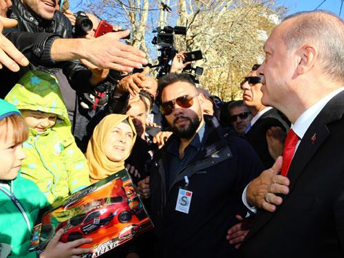 Cumhurbaşkanı Erdoğan Gümülcine'de
