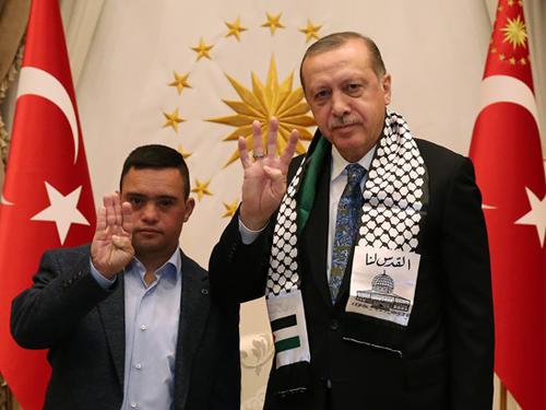 Cumhurbaşkanı Erdoğan, Filistinli Muhammed et-Tavil'i Kabul Etti