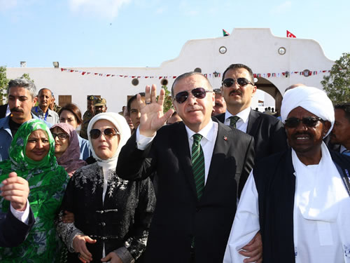 Cumhurbaşkanı Erdoğan, Sevakin Adası'nı Ziyaret Etti