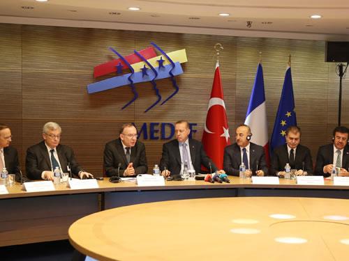 """""""Türkiye-Fransa Ticaret Hacminde Hedefimiz 20 Milyar Avro"""""""