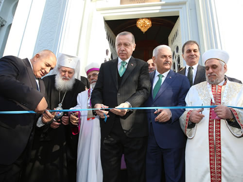 President Erdogan Attends the Reopening Ceremony of the Iron Church