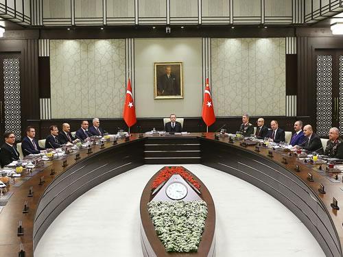 """MGK Bildirisi: """"Türkiye, Sınırlarının Yanı Başında Terörist Ordusu Kurulmasına İzin Vermeyecek"""""""