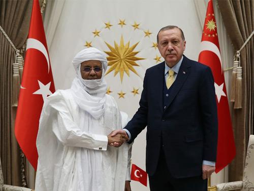 Cumhurbaşkanı Erdoğan, Nijer Başbakanı Rafini'yi Kabul Etti
