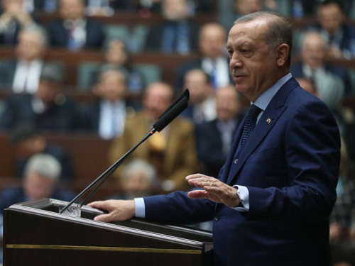 """""""Bugün Türk Milleti, Bir Kez Daha Tüm Dünyayı Adaletiyle ve Merhametiyle Kucaklamak İçin Yola Çıkmıştır"""""""