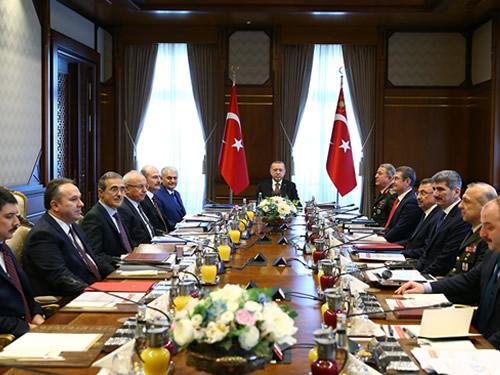 Savunma Sanayii İcra Komitesi Cumhurbaşkanı Erdoğan Başkanlığında Toplandı