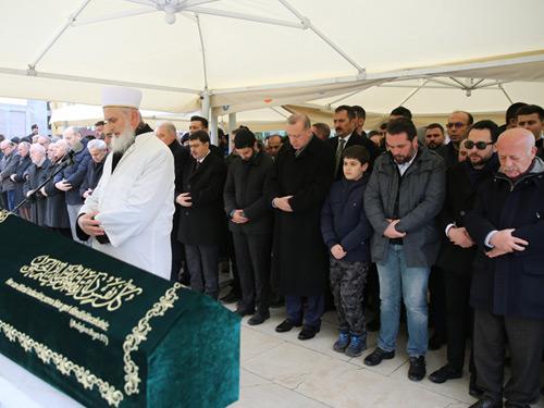 Cumhurbaşkanı Erdoğan, Bekir Sıtkı Albayrak'ın Cenaze Törenine Katıldı