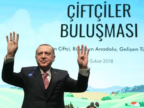 """""""Güçlü Türkiye'nin Yolunun Güçlü Tarımdan Geçtiğini Asla Unutmamalıyız"""""""