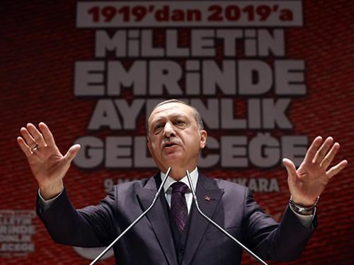 """""""Dış politikası ve ekonomisiyle bölgesinde ve dünyada söz sahibi bir Türkiye var"""""""