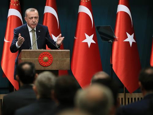 Cumhurbaşkanı Erdoğan, il müftülerini kabul etti