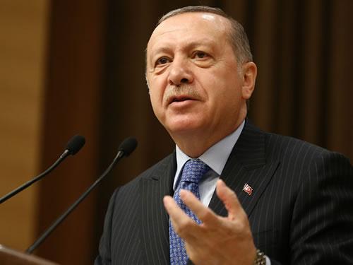 """""""Kimsenin Türkiye'yi terör örgütleri vasıtasıyla tehdit etmesine izin vermeyeceğiz"""""""