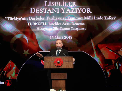 """""""Biz geleceğine güvenle bakan bir Türkiye'yiz"""""""