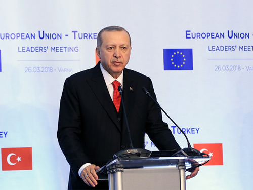 """Turkey and the EU are long-term strategic partners"""
