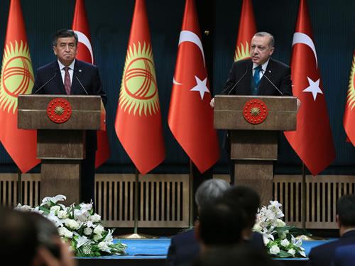 """""""Cumhurbaşkanı Ceenbekov'un ziyareti, FETÖ'nün iki ülke ilişkilerini zehirleme çabalarına en güzel cevaptır"""""""