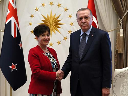 Yeni Zelanda Genel Valisi Reddy Cumhurbaşkanlığı Külliyesinde