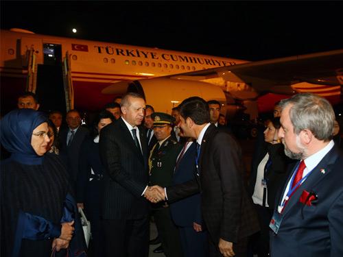 Cumhurbaşkanı Erdoğan Özbekistan'da