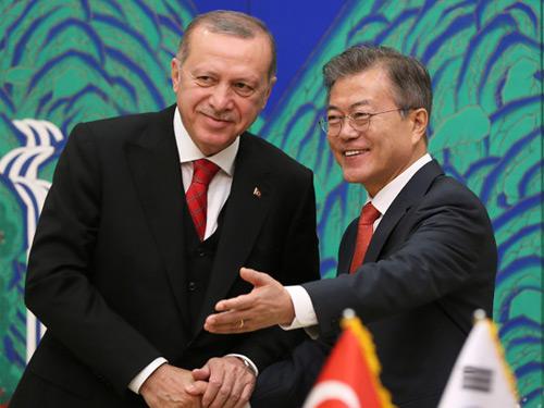 """Türkiye-Güney Kore Ortak Açıklaması: """"İki ülke arasındaki iş birliğinin artırılması hususunda mutabık kalındı"""""""