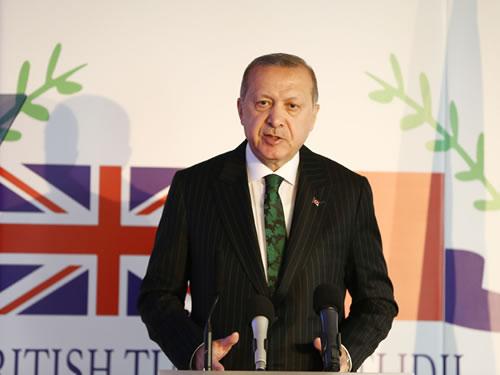 """""""Terörle mücadele alanında aldığımız önlemlerle, Avrupa'nın ve tüm dünyanın güvenliğini de sağlıyoruz"""""""