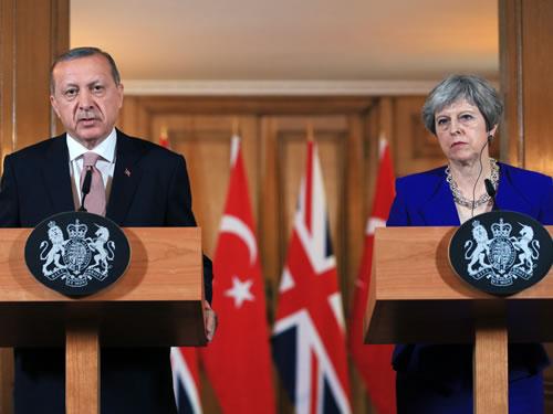 """""""Terör örgütleriyle mücadelede, Birleşik Krallık ile iş birliğimizi derinleştirmek istiyoruz"""""""